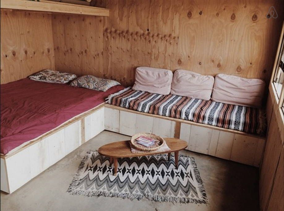 Check out this awesome listing on Airbnb: Homestead Camp Cabin in Joshua Tree - Cabins for Rent in Joshua Tree - Get $25 credit with Airbnb if you sign up with this link http://www.airbnb.com/c/groberts22