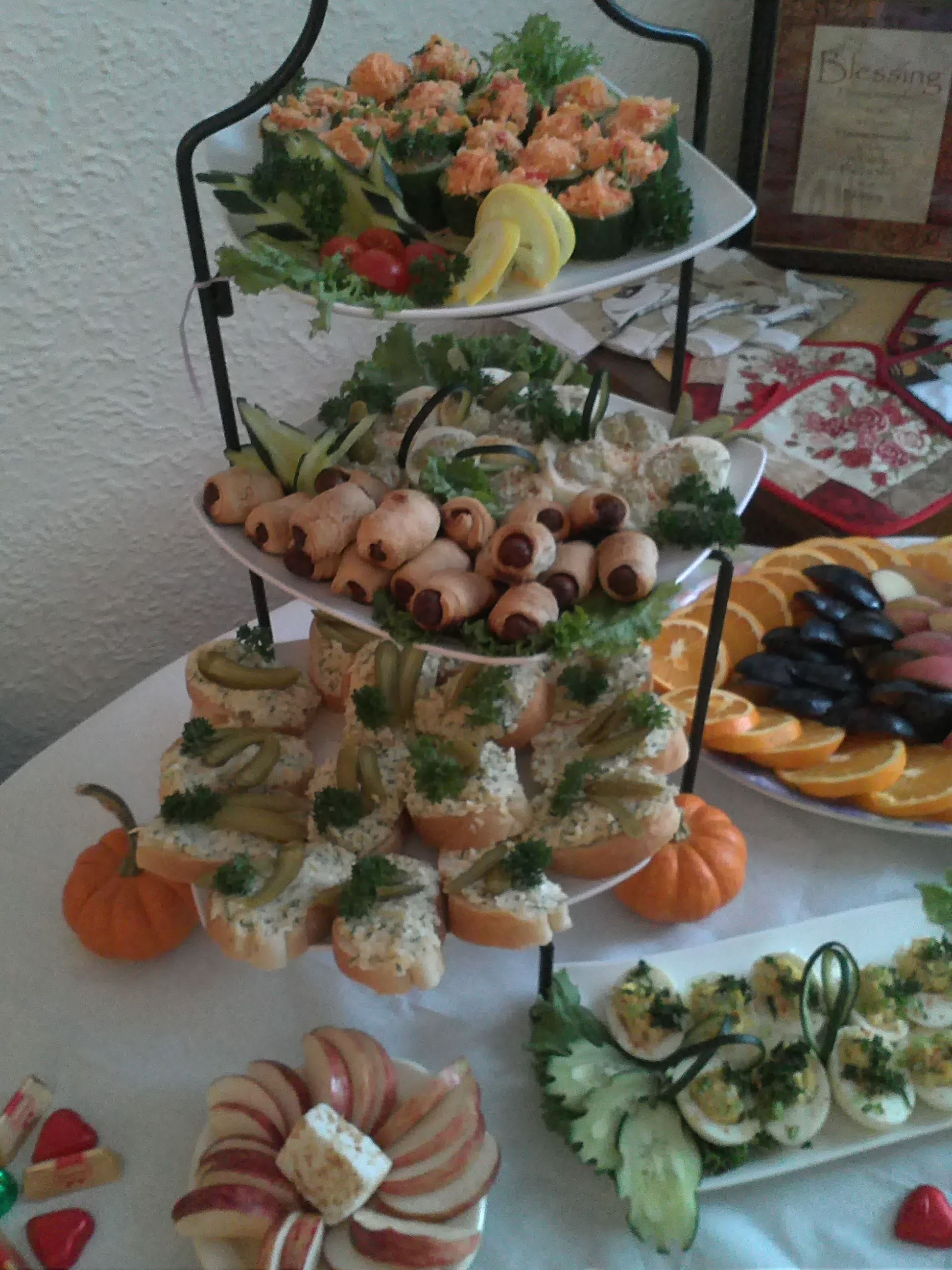 Dinner Party Finger Food Ideas Part - 26: Finger Food -party Decoration