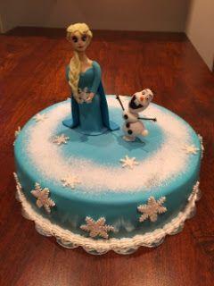 Frozen kakku / Frozen cake
