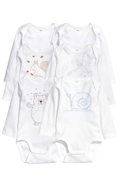 Conscious Long Sleeved Bodysuits In Soft Organic Cotton