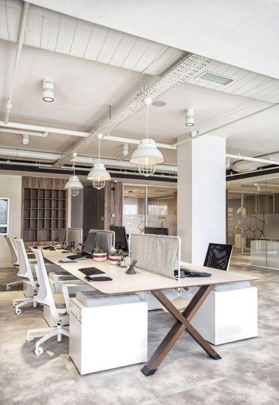 Pin Di Sathaporn Sanwong Su Stile Industrial Ufficio Industriale Progettazione Dello Spazio Per Un Ufficio Ufficio Di Architettura