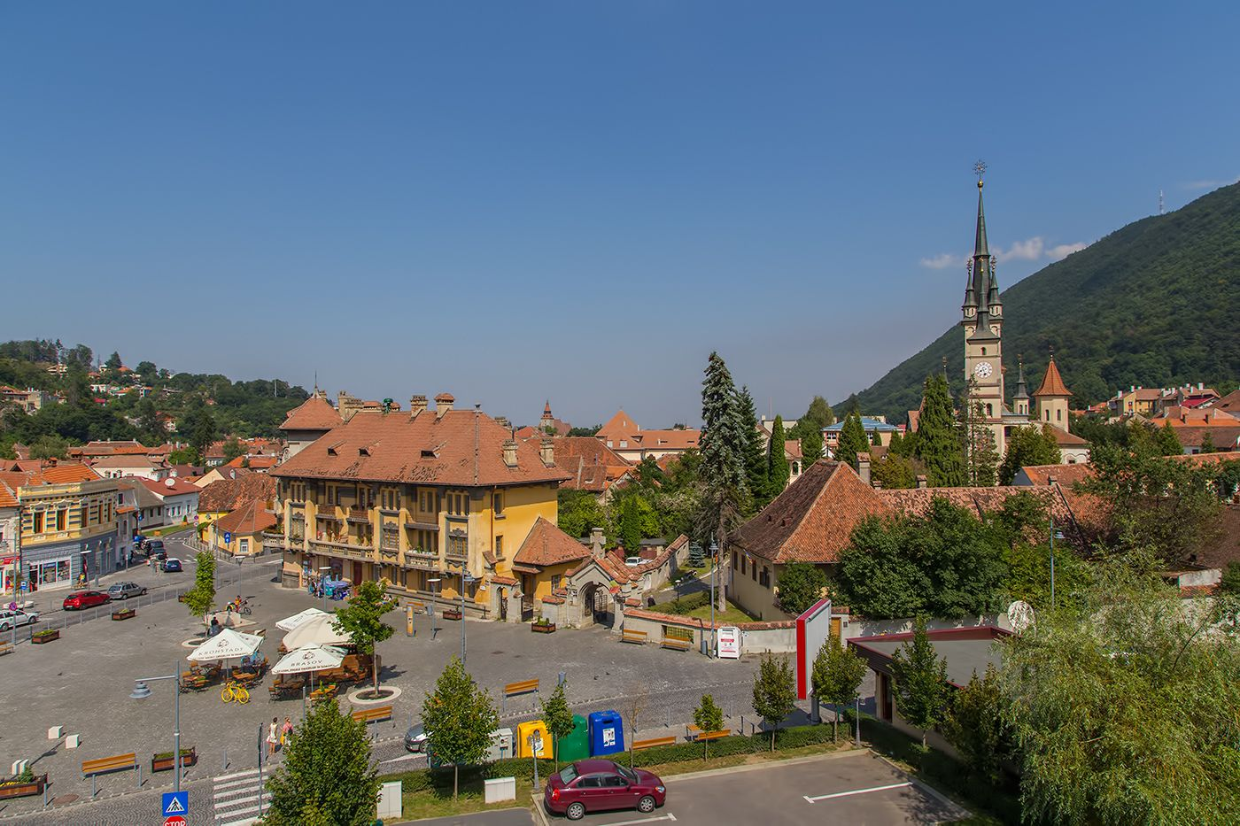 Hotel Coroana Brasovului. Elegance in the Heart of Transylvania