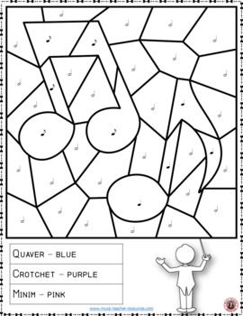 Music in Our Schools Month Coloring Page: Free Music