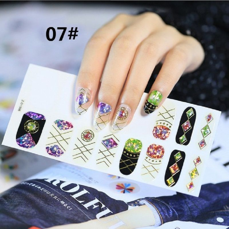 The Beauty Design Nail Art Sticker Professional New Radium At The ...