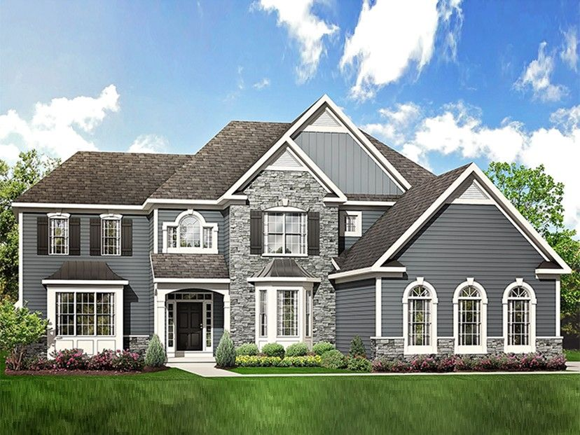 Traditional Style House Plan 4 Beds 3 Baths 3362 Sq Ft Plan 1010 205 Ranch Style House Plans House Designs Exterior Traditional Home Exteriors