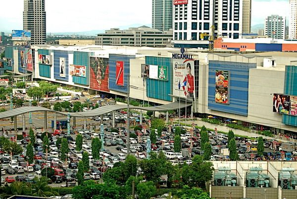 SM Megaball Ortigas, Manila - 3rd largest mall in the world (my daughter's been there!)