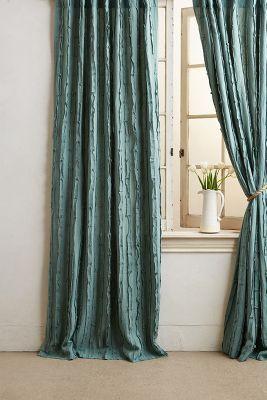 Textured Linen Curtain