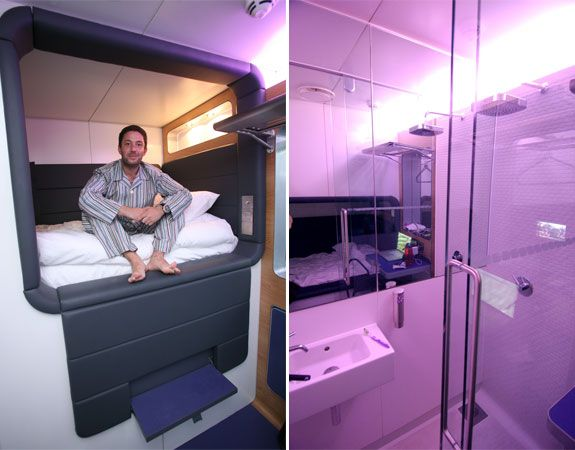 Small Box Room Cabin Bed: A Review Of The Yotel In-Airport Boutique Hotels