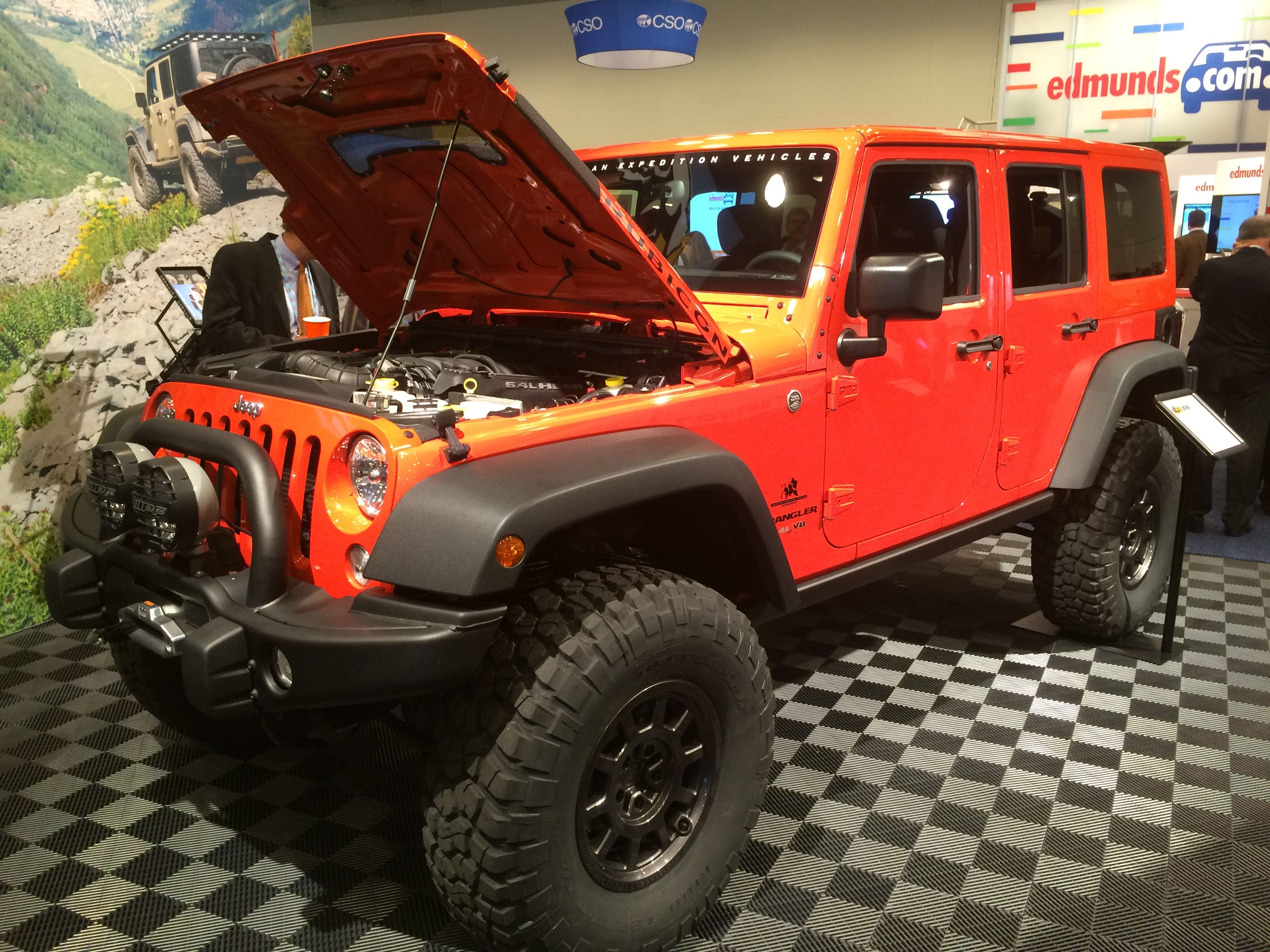 We spotted this awesome AEV JKU is at the NADA show in San Francisco