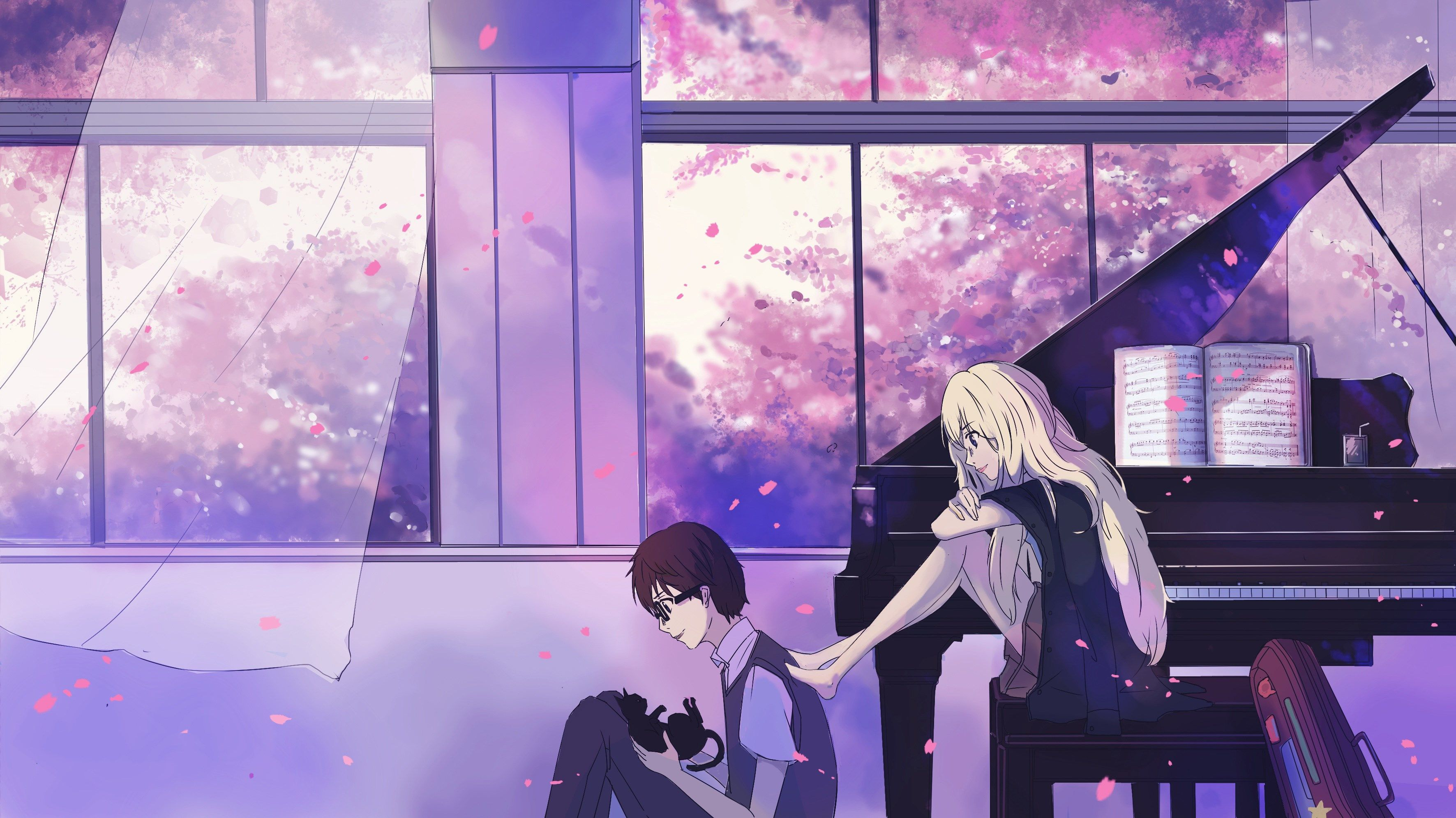 Amazing Your Lie In April Your Lie In April Lie In April Arima And Kaori