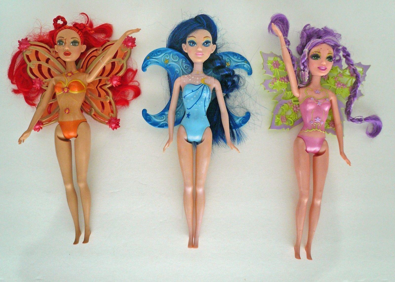 Fairytopia Magic of the Rainbow Sunburst 2007 Barbie Doll