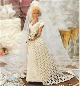Bridal Collections Doll Pattern For Barbie