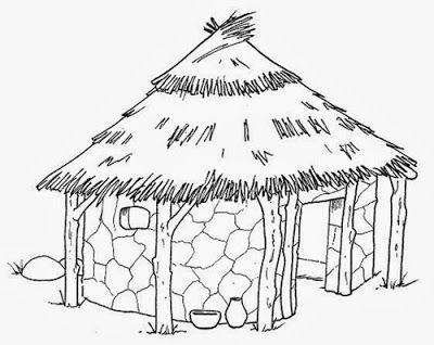 Maestra de Primaria: Casas para colorear | 0 Desen / Boyama | Pinterest
