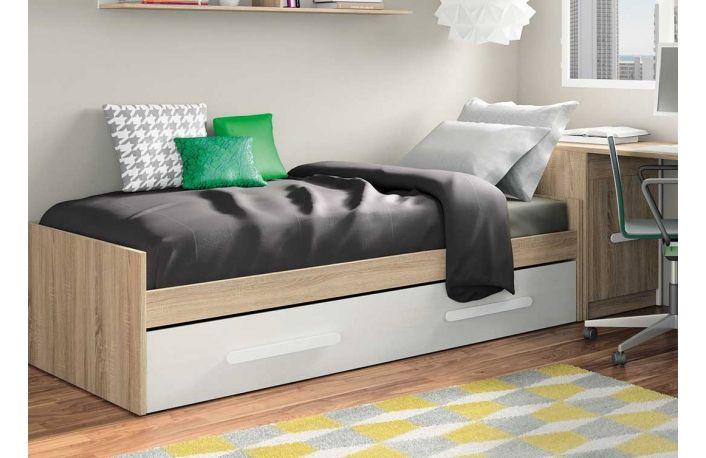 Cama nido juvenil de melamina (varios colores) | cama | Pinterest ...