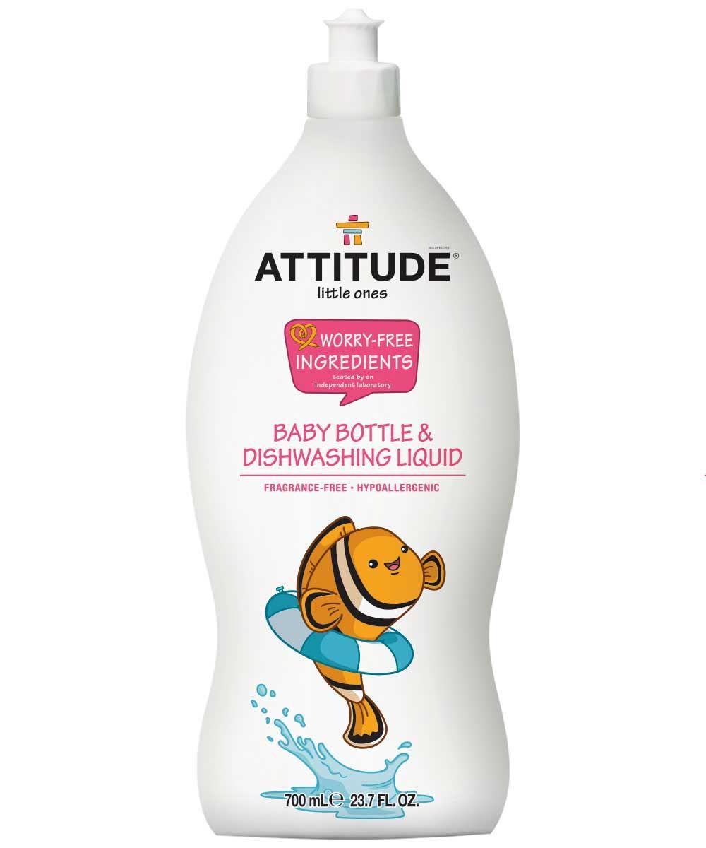 Baby Dishwashing Liquid Fragrance Free Baby Bottles