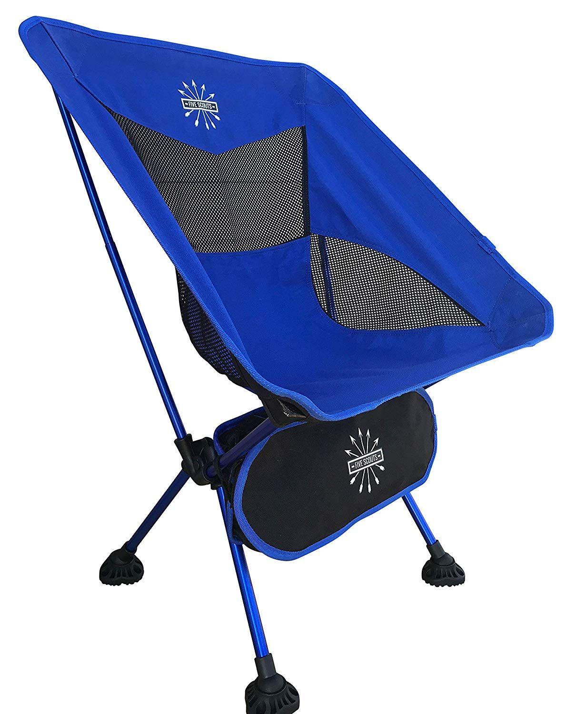 Five Scouts Ultralight Folding Camp Chair Heavy Duty