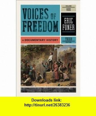 Voices of freedom a documentary history third edition vol 1 books fandeluxe Choice Image