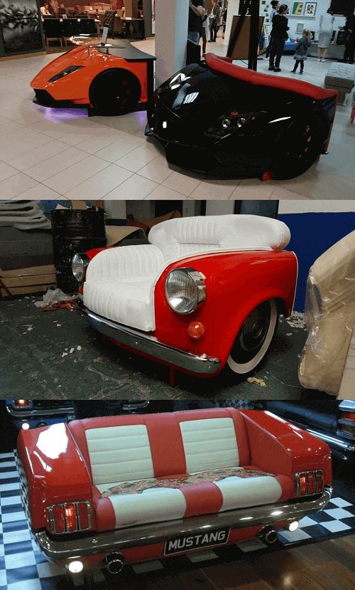 19 DIY Automotive Furniture Car Part Ideas (Update 2019