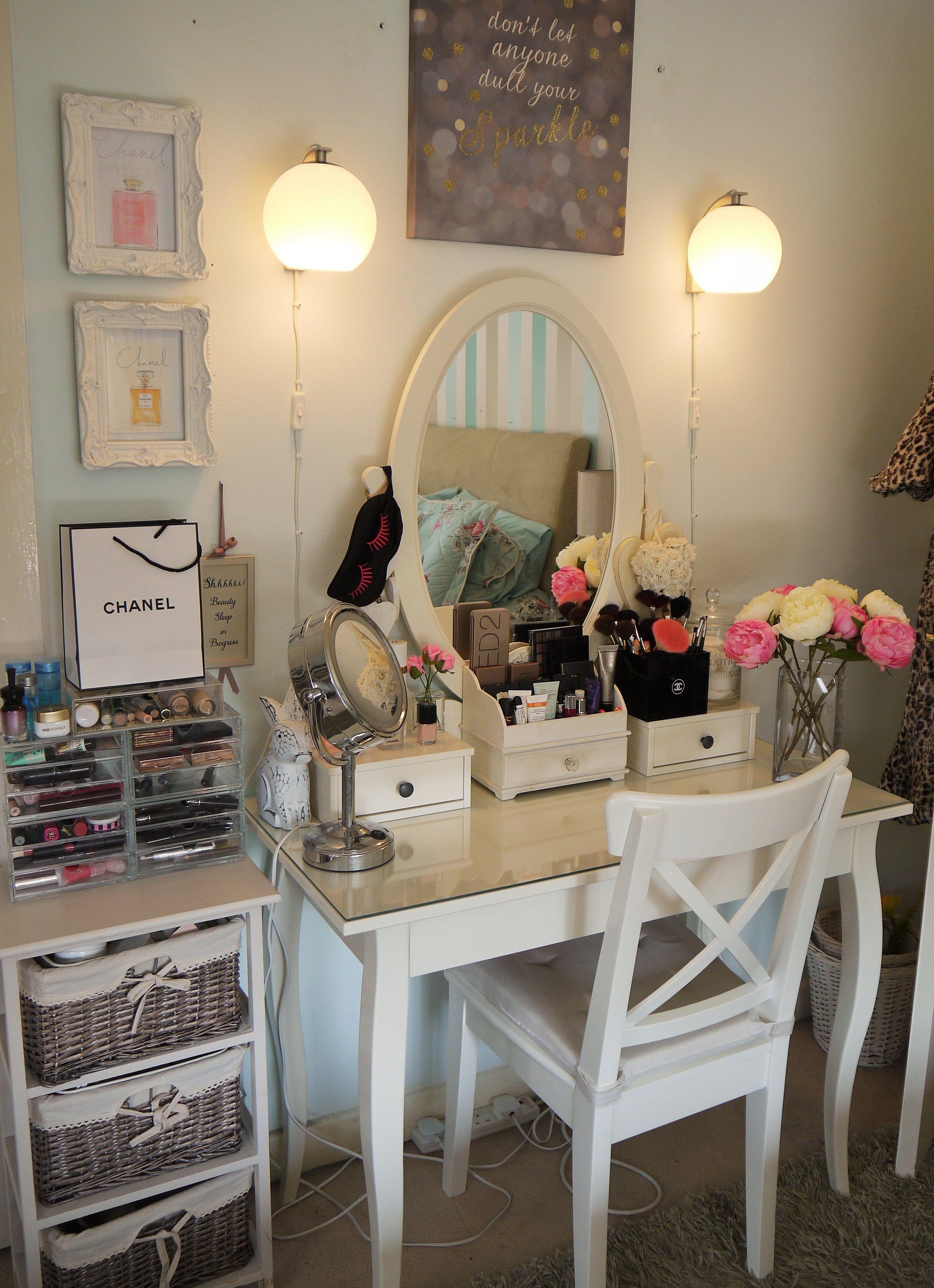 hemnes dressing table Google Suche Dream home Pinterest Vanities, Makeup vanities and Room
