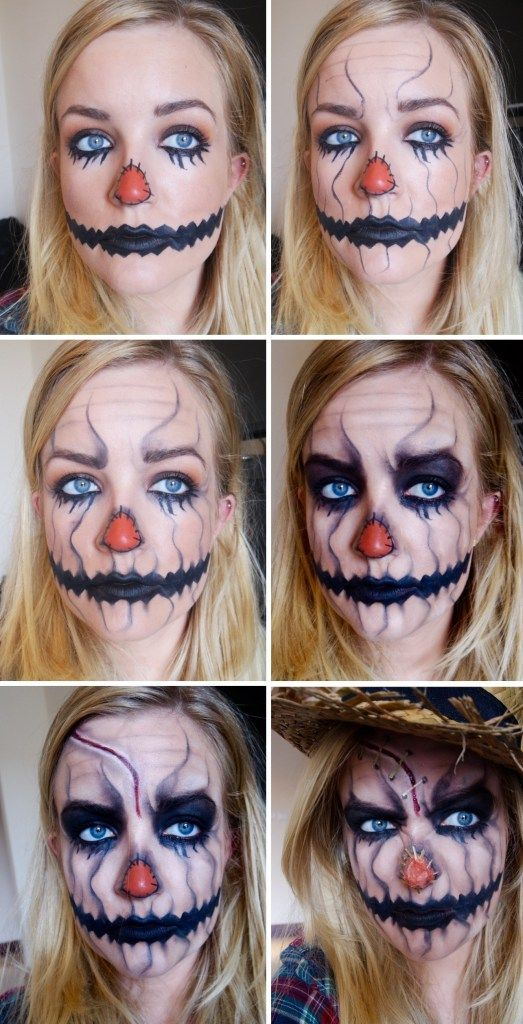 Halloween Makeup – Scarecrow * Beauty by Phillippa