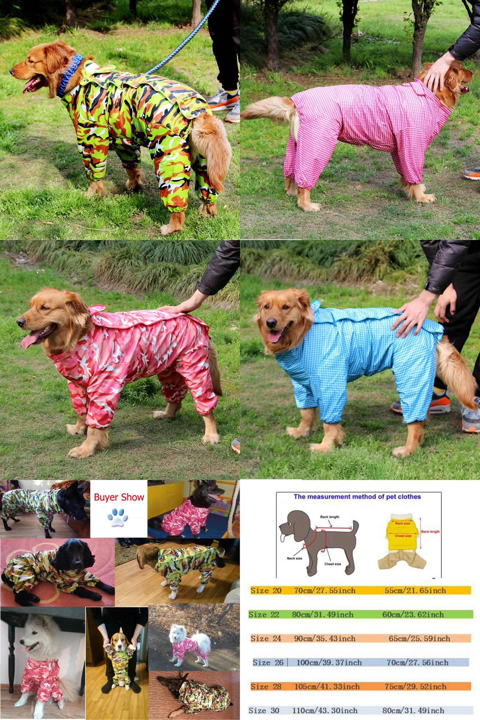 Visit To Buy Cool Camouflage Pet Dog Raincoat Hoody Waterproof Rain Lovely Jackets Coat Apparel Clothes For Medium Big Large D Dog Raincoat Pets Pet Clothes [ 2400 x 1600 Pixel ]
