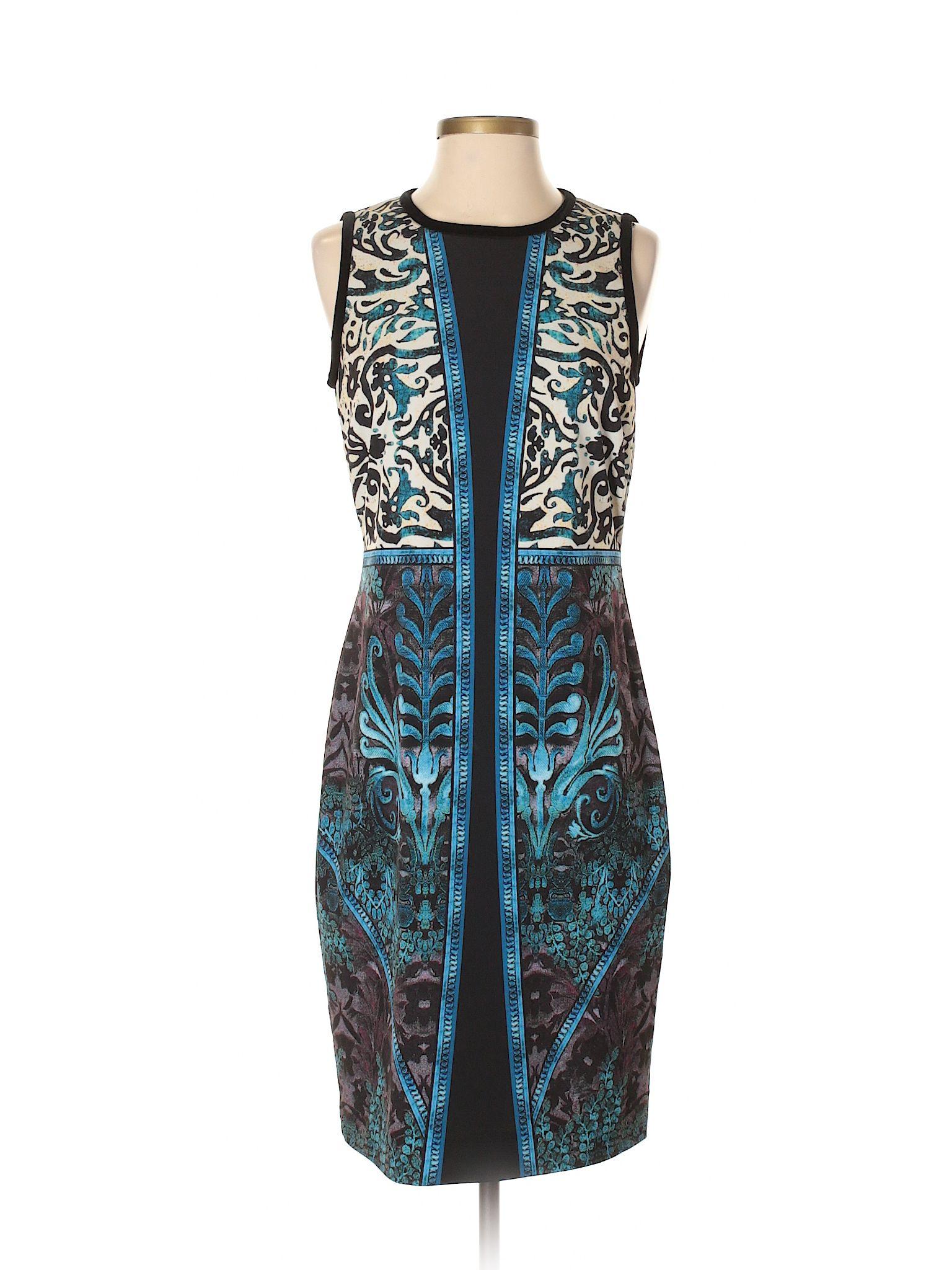Etcetera casual dress size blue womenus dresses