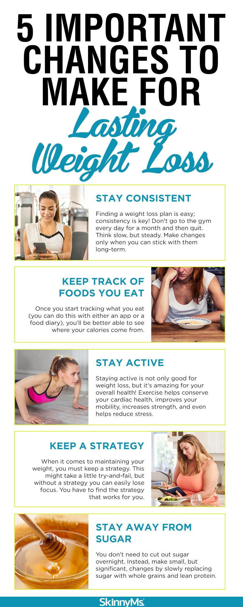 5 Important Changes To Make For Lasting Weight Loss Skinny Ms