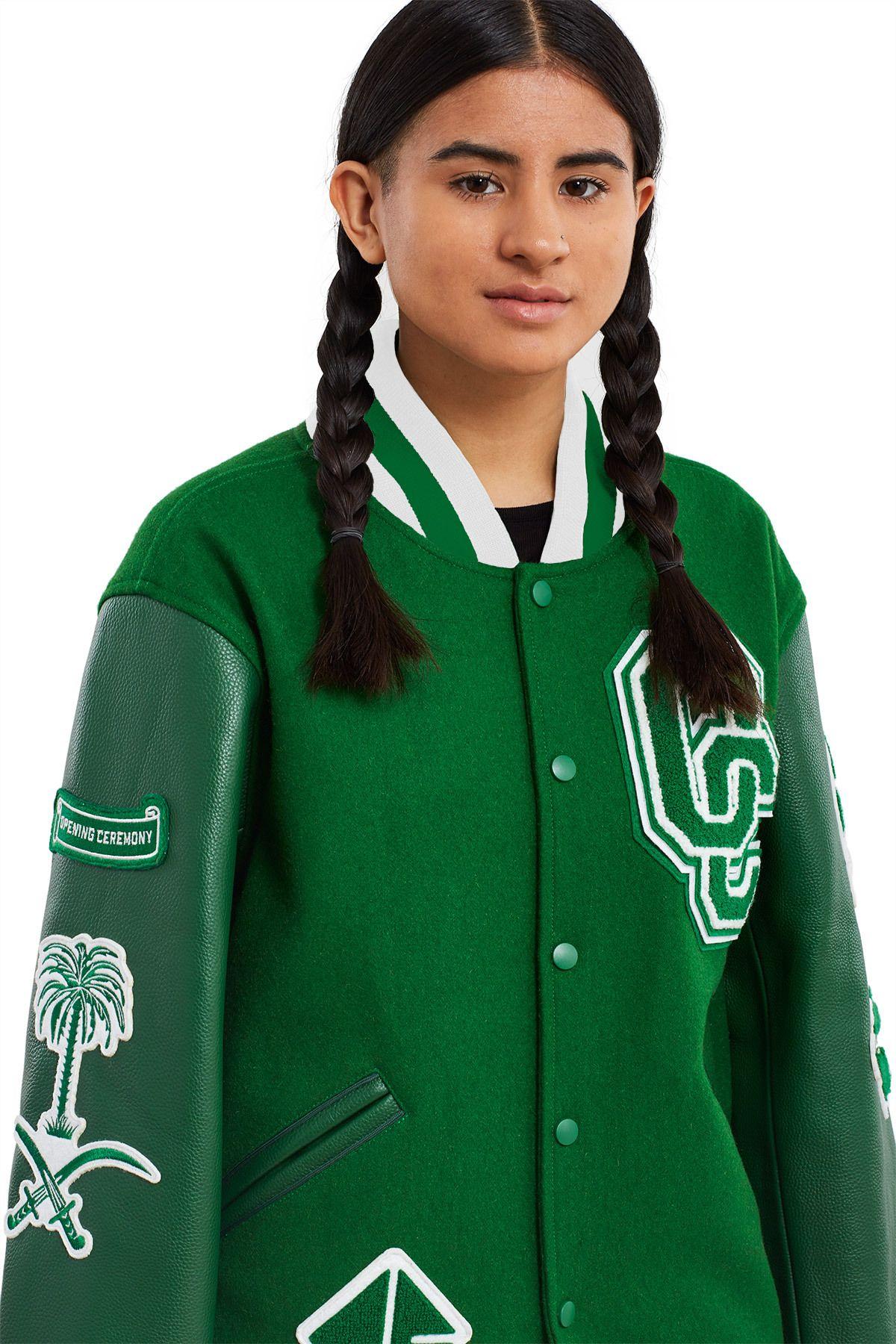 Opening Ceremony, Saudi Arabia Varsity Jacket In Saudi