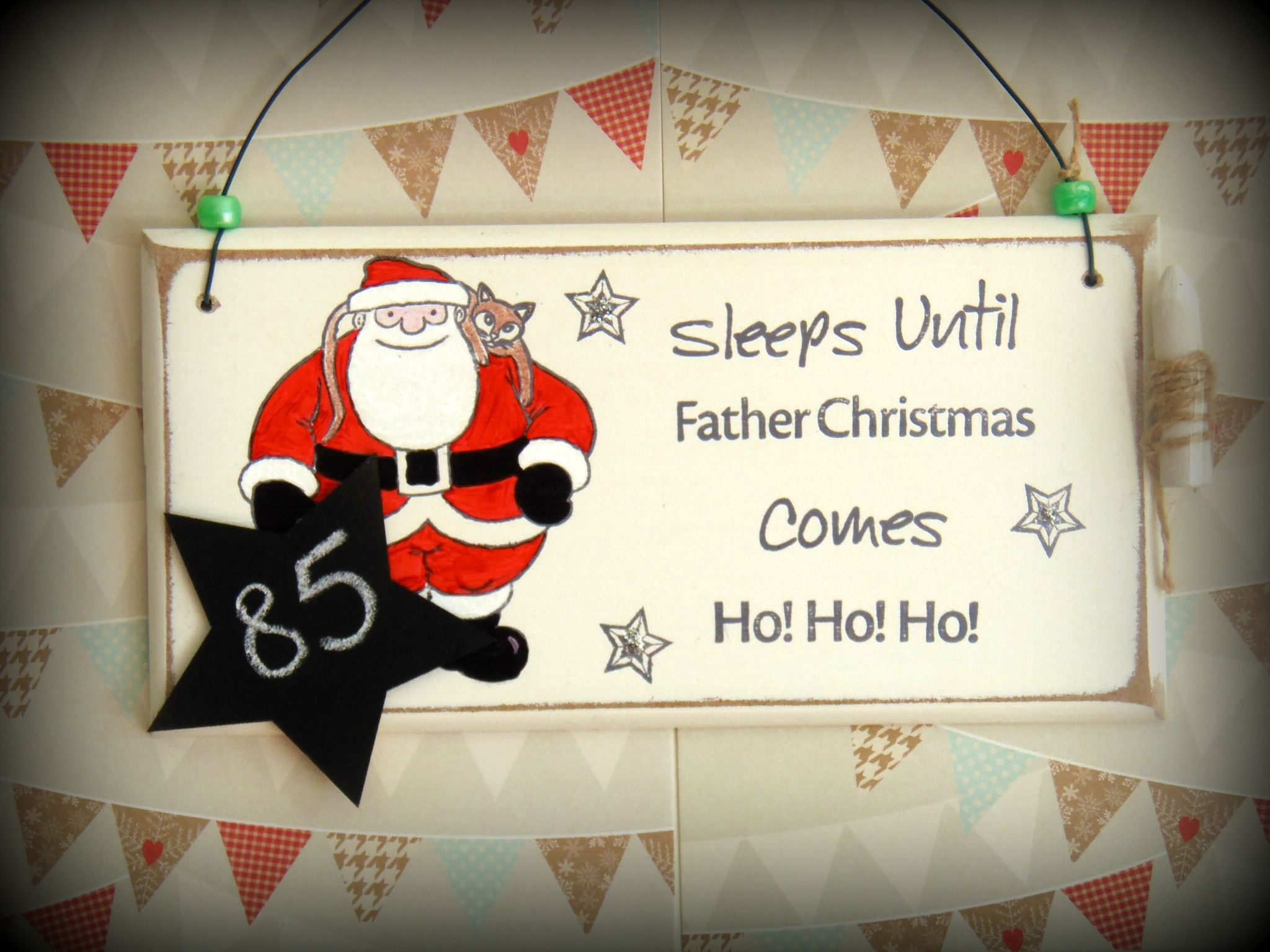 My Christmas Countdown Signs Are Back, And I Have A