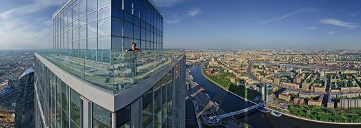 360 Spherical Panorama Moscow City View From The Highest Tower In Europe This May With The Help Of Dmitry Chistoprudov We Came On The Gorod Fotografii Bashnya