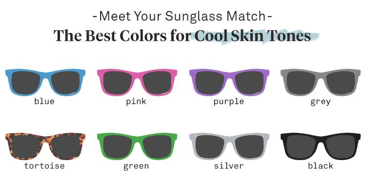 Best Sunglasses For Warm And Cool Skin Tones Sunglass Warehouse Warm Skin Tone Cool Skin Tone Colors For Skin Tone