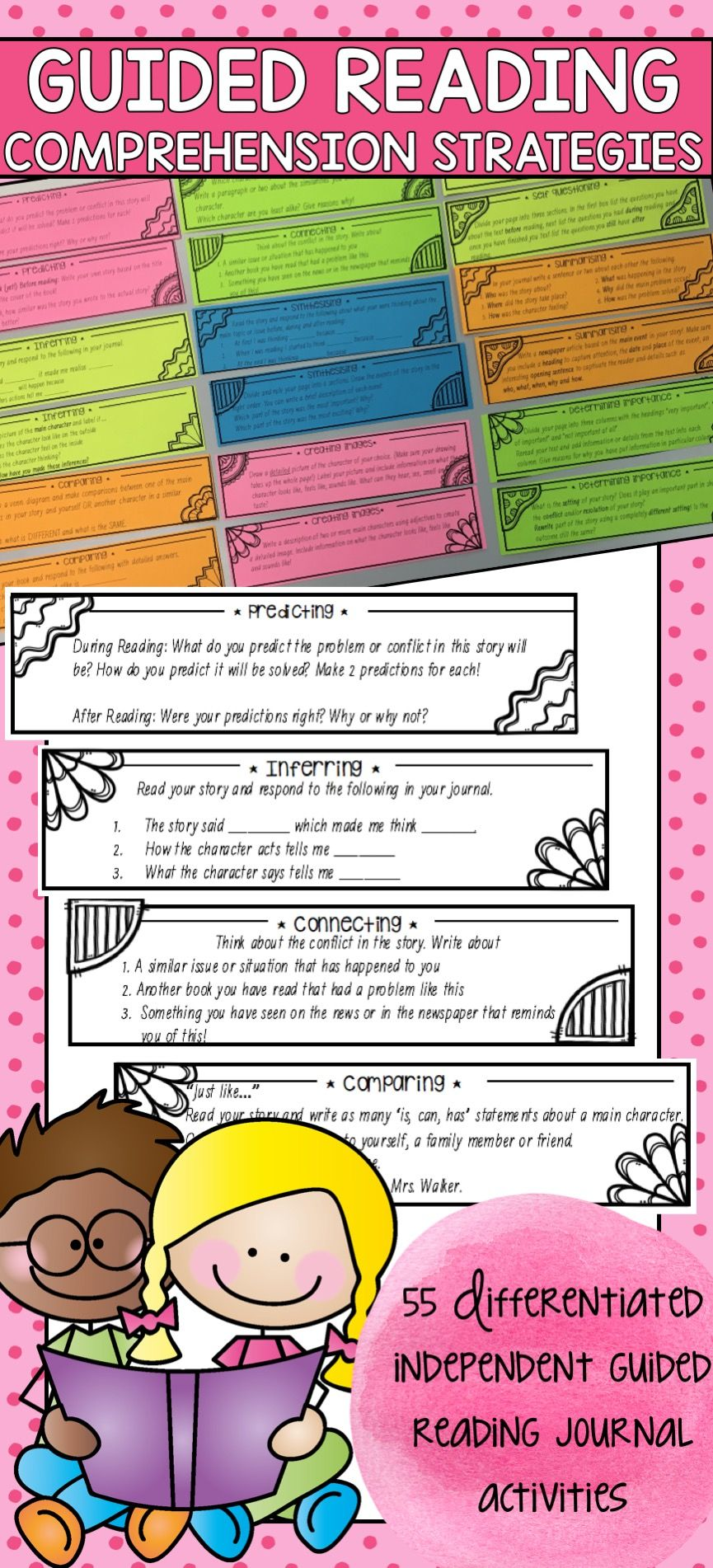 Guided Reading Prehension Strategy Activities