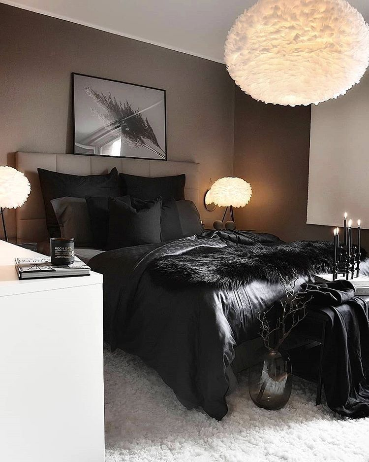"""www.ego.co.uk on Instagram """"Gothic glam 🤤 this bedroom"""
