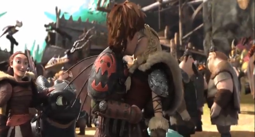 Hiccup and Astrid's Ki...