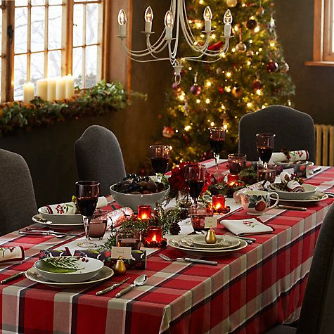 From cutlery to decorations create the perfect Christmas day table setting with John Lewis & From cutlery to decorations create the perfect Christmas day table ...