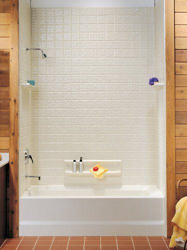 fiberglass baths with shower - Google Search | bathroom | Pinterest ...