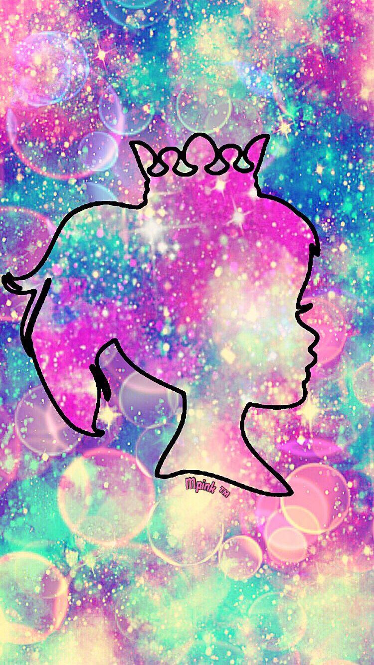 Pink princess galaxy wallpaper androidwallpaper iphonewallpaper wallpaper galaxy cute - Galaxy wallpaper for girls ...