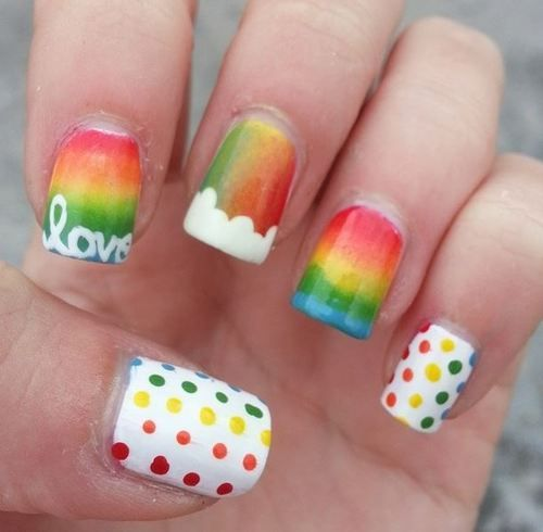 9 gorgeous rainbow nail art designs you can do yourself photos 9 gorgeous rainbow nail art designs you can do yourself photos solutioingenieria Image collections