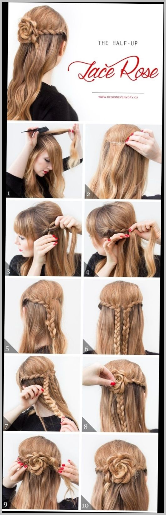 Easy Hairstyles For Short Hair To Do At Home Step By Step Long Hair Styles Diy Hairstyles Easy Hair Styles