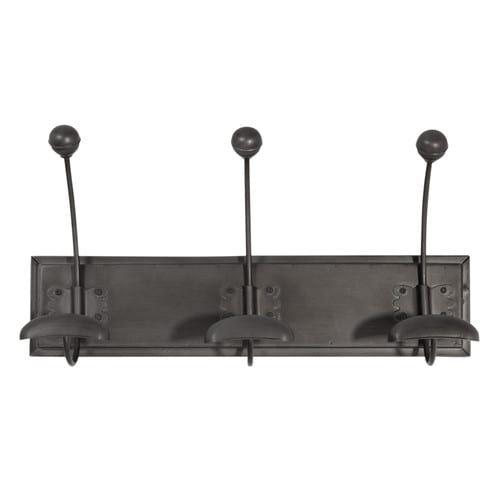 Colgador con 3ganchos industrial de metal negro EDISON 24,99€