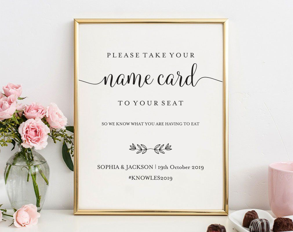 Pin On Table Seating Cards