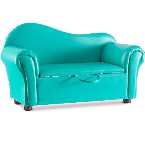 harper u0026bright designs kids sweet sofa futon pu leather storagebright green harper u0026bright designs kids sweet sofa futon pu leather