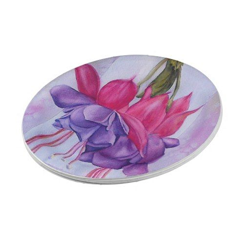 PINK AND PURPLE FUSCHIA FLOWER PAPER PLATES  sc 1 st  Pinterest & Pink and purple fuschia flower paper plates | Flower paper
