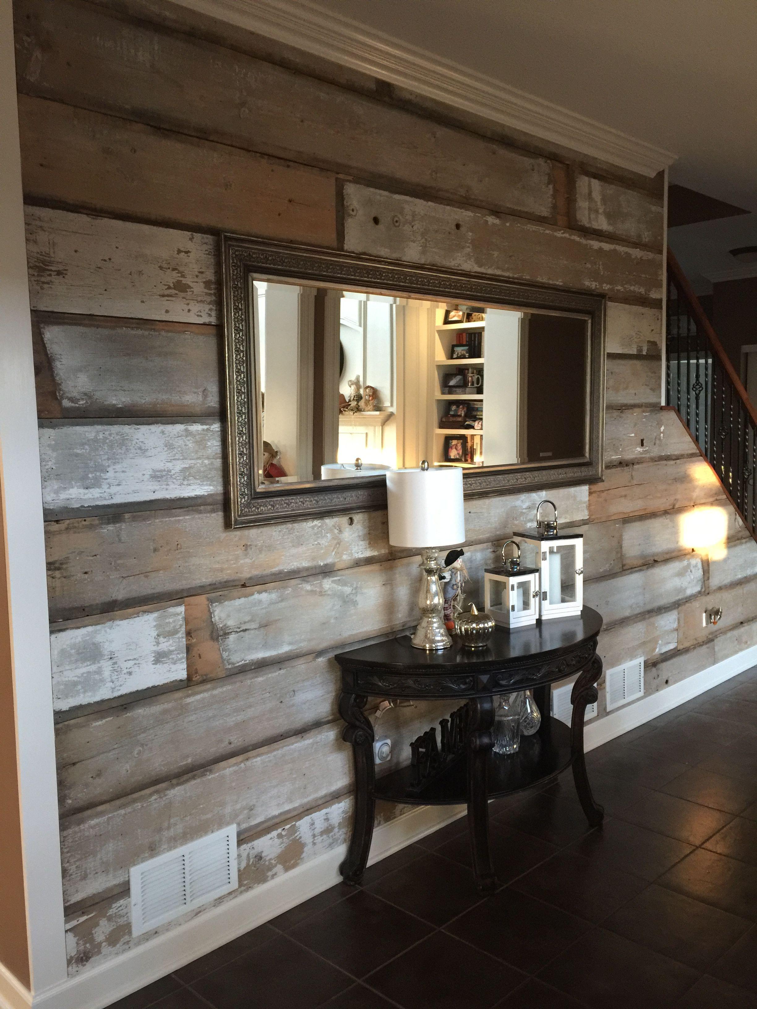 Vintage Repurposed Reclaimed Wood Rustic Barn Wood Interior Diy Decor Barn Wood Home Diy Home Decor Bedroom
