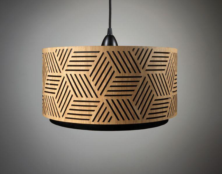 Hängelampe Lampenschirm Holz Handmade | interiors | Pinterest ...
