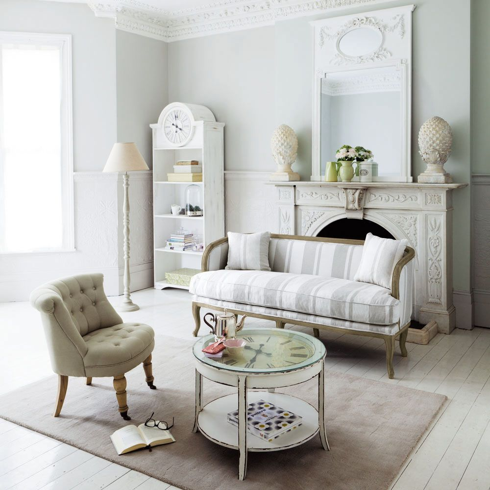 fauteuil capitonn roulettes en coton beige constantin maisons du monde deco maison. Black Bedroom Furniture Sets. Home Design Ideas