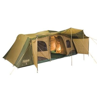 Coleman tents are loved because they are so durable and reliable! We love this Montana 12 man tent in particular because it is perfect for a full family!