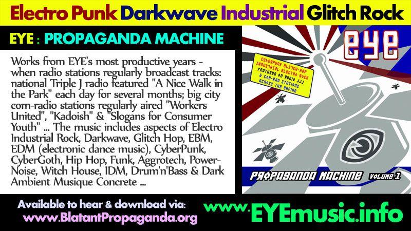 Dark Alternative Electronic Industrial Dance Rock Music Artists