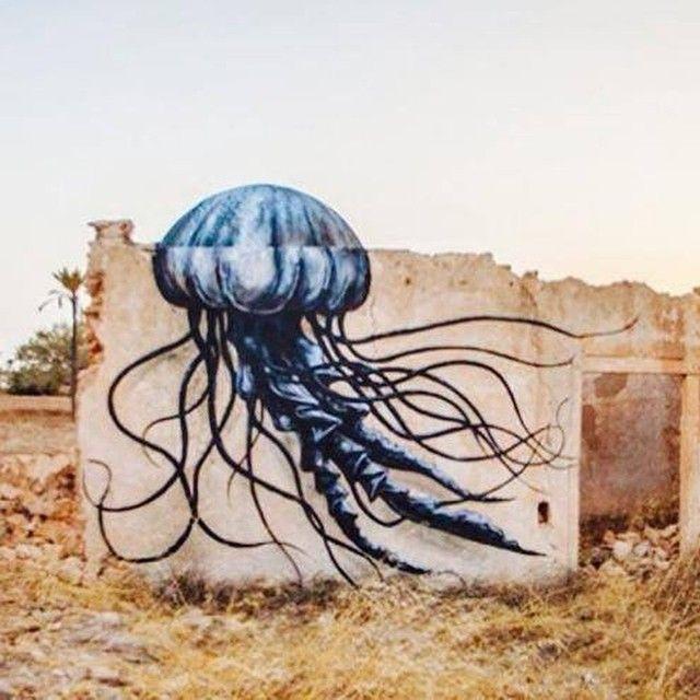 Roa...for Djerbahood (Tunisia)