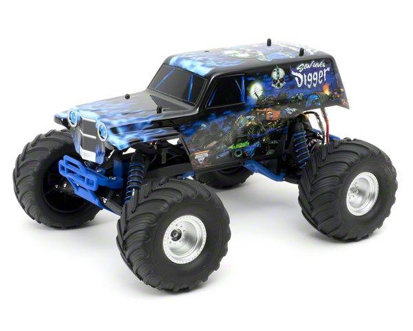 Traxxas Son Uva Digger Monster Jam 1 10 2wd Monster Truck W Tq 2 4ghz Radio Tra36044 Cars Trucks Monster Trucks Monster Truck Party Trucks